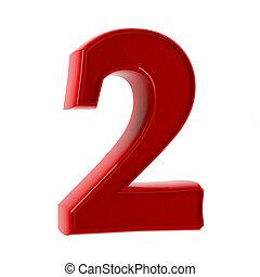 2, 数字