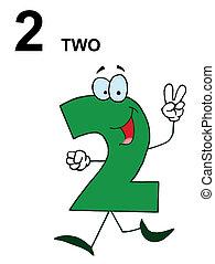 2., 数, 幸せ