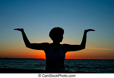 #2, 晚上, 瑜伽