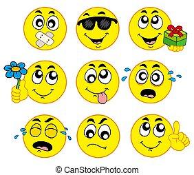 2, 様々, smileys
