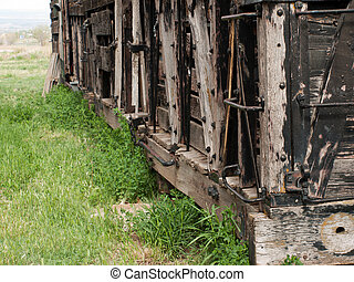 2-1910 D&RG RR Boxcar. Museum of the Mountain West in Montrose, Colorado.