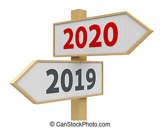 #2, 2020, 路标