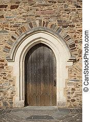 2, ajtó, középkori