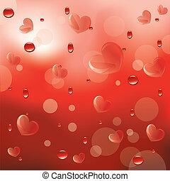 2, amor, vermelho