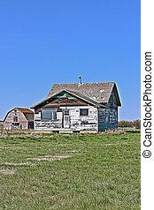 2-b, farmhouse, abandonado, vertical