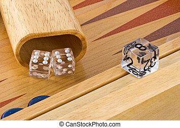 2, backgammon