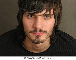 2, beardman, 脸