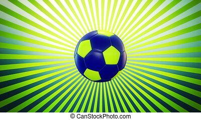 2, boule football, sunburst