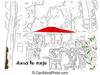 2., café, champs-elysees-elysees