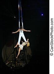 2, circus, kunstenaars