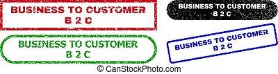 2, cliente, superficie, empresa / negocio, rectángulo, b, sellos, c, angustia