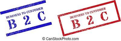 2, cliente, textured, empresa / negocio, rectángulo, b, marco, estampilla, sellos, c, rasguñado