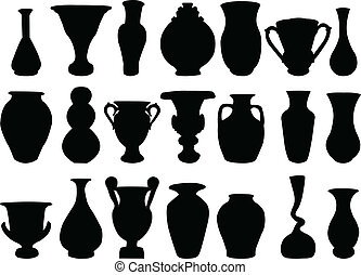 2, collection, vase