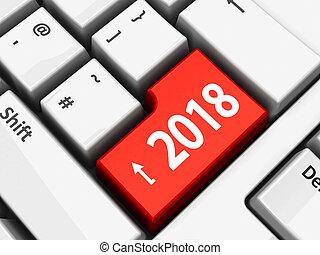 #2, computer, 2018, toetsenbord