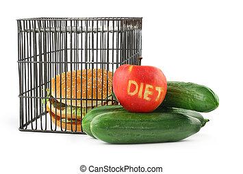 #2, concetto, dieta