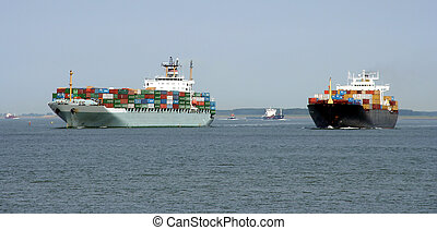 container vessels - 2 container vessels