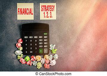 2., context, organizzato, affari, digitale, carta, acumi, testo, scrittura, costruire, concetto, finanziario, strategia, 3.., accesories, differente, parola, 1, fondo., smartphone
