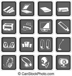 2, de pictogrammen van de computer