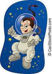 #2, espaço, criança