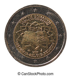 2 Euro coin from Belgium - Commemorative 2 Euro coin (Pactum...