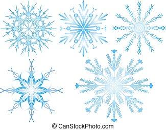 2, flocon de neige