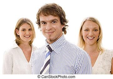 #2, groep, handel team