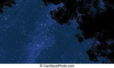 2, gwiazdy, noc