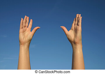 #2, haut, mains