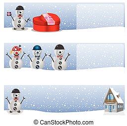 2, hiver, fond