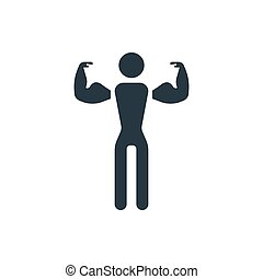 2, icône, fitness
