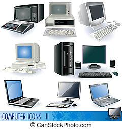 2, iconos de computadora