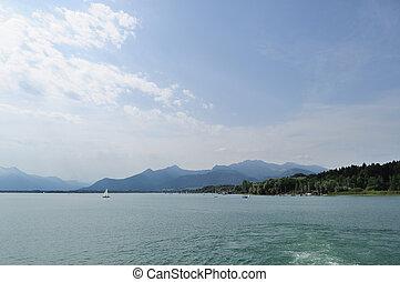 2, jezioro, alpejski