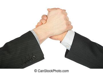 2 kezezés