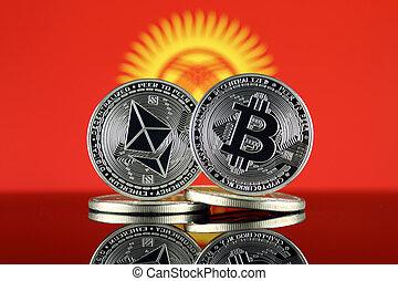 2, kyrgyzstan, términos, flag., (btc), bitcoin,...
