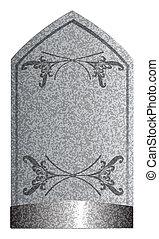 2, lápida