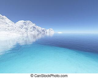 2, lód, ziemia