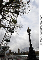 2, londyn, lamposts