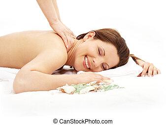 #2, masage, heureux