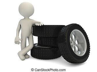 2, neumáticos