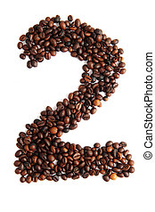 2 - number from coffee beans