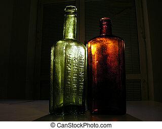 2 old bottles 2
