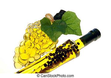 2 Olive Oil Bottles