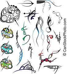 2, ontwerp, artistiek, communie