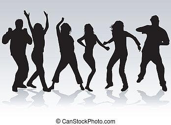 2 personnes, danse