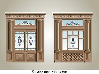 2., portal, entrada