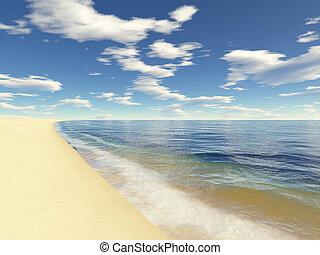 2, praia, infinito