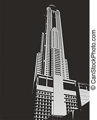 2, rascacielos