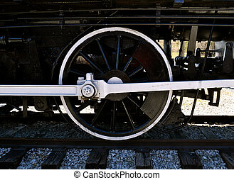 2, roue, locomotive