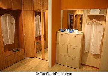 2, rum, påklädning