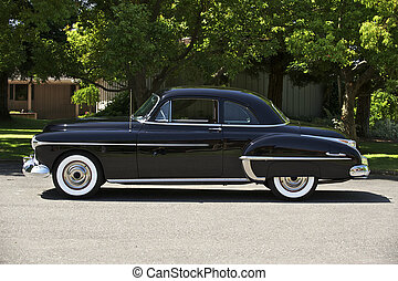 2, schwarz, 1950, coupe
